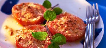 Croque-miettes de tomates