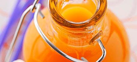Sirop de mandarine