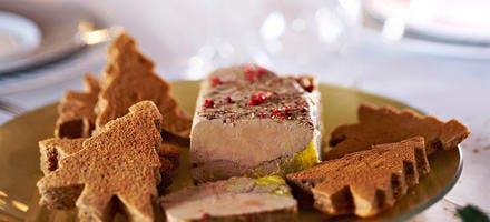 Terrine de foie gras au porto blanc