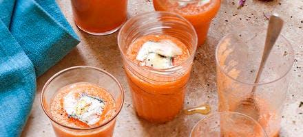 Soupe fruitée au pastis