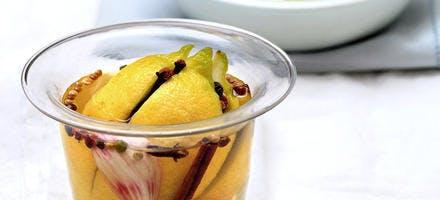 Citrons confits à l'huile d'olive