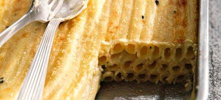 The gratin de macaronis