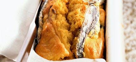 Gâteau aux anchois
