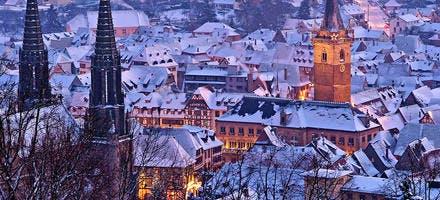 Strasbourg en hiver