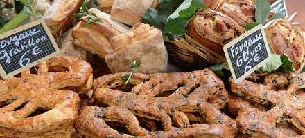 fougasses boulangerie Soulier