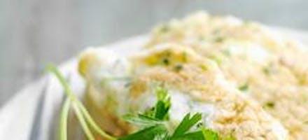Omelettes soufflées aux courgettes