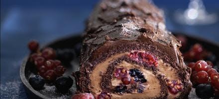 buche chocolat fruits des bois