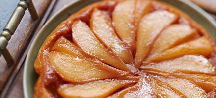 Tatin de poires à la cannelle