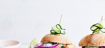 Sandwich poulet-avocat