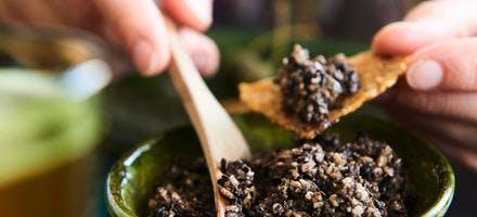Tapenade aux graines de tournesol