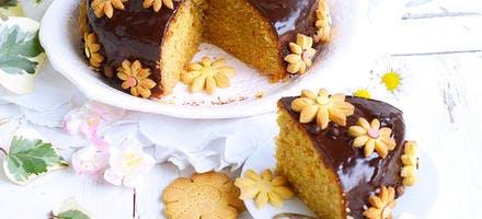 Carrot cake au chocolat pour Pâques