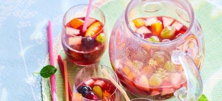Sangria aux fruits