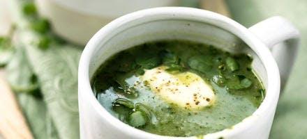 Soupe de cresson et poire