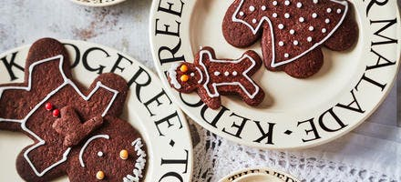 Bonhommes de Noël au chocolat