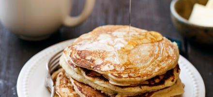 Pancakes au levain