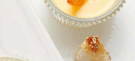Petites crèmes à l'orange