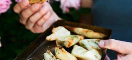 Samosas de légumes