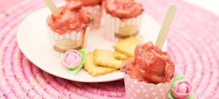 Sorbet à la fraise