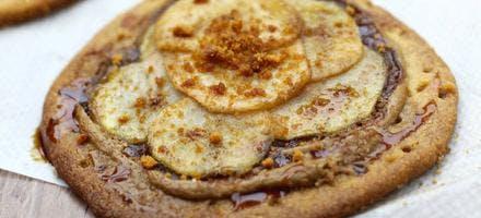 Tartelettes sablées aux poires
