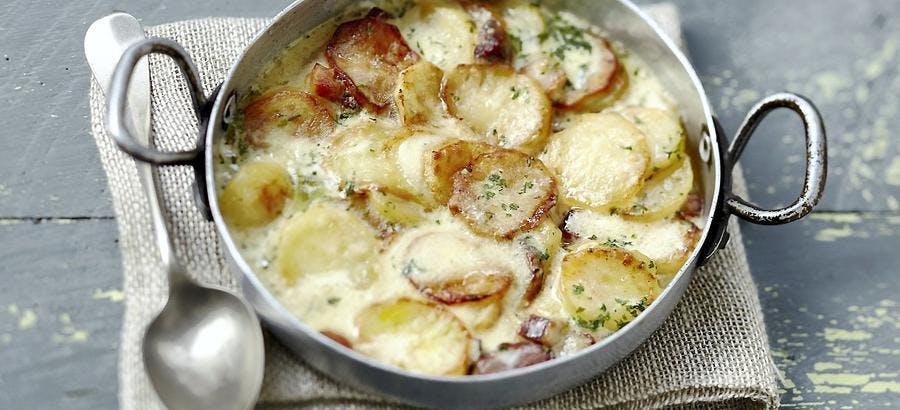 Truffade - gratin de pommes de terre à la tomme
