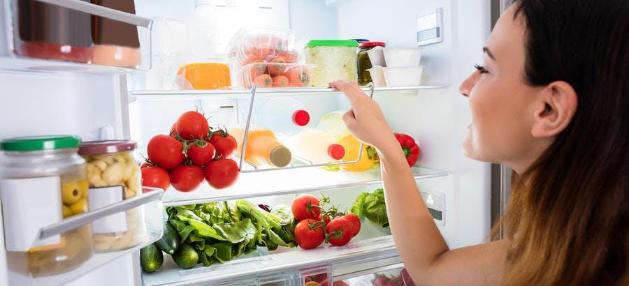 Conservation des aliments au frigo