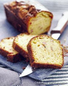 Cake au comté et jambon
