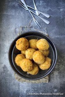 Croquettes de riz (arancini)