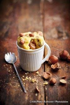 Recette de mugcake au chocolat