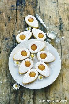 Biscuits fourrés pour Pâques