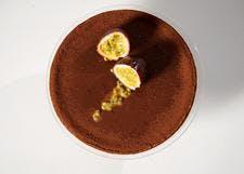 Tarte fruit de la passion - chocolat