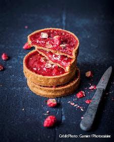 Tartelettes aux pralines roses
