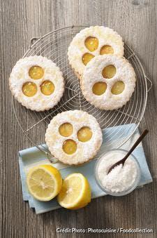Biscuits à la confiture de citron