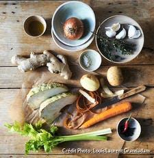 Légumes d'hiver, nature morte