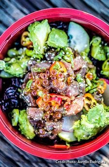 Poke bowl hawaïen
