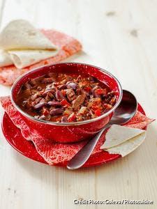 Chili con carne gourmand