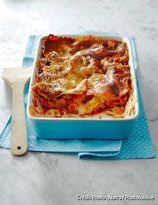 Lasagnes à la sauce bolognaise