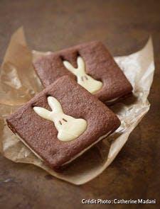 Biscuits lapin de Pâques