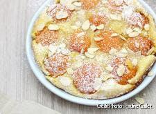 Clafoutis abricots et amandes