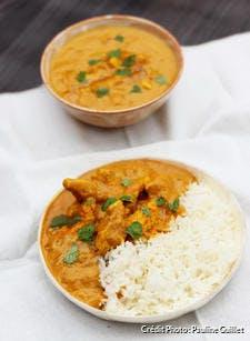 Curry de poulet curcuma