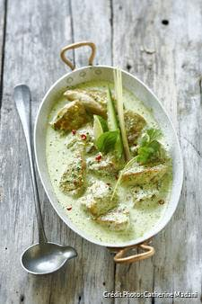 Curry vert de poulet thaïlandais