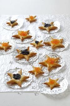 Biscuits apéritifs de Noël