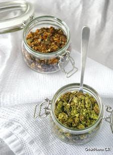 Granola matcha - coco