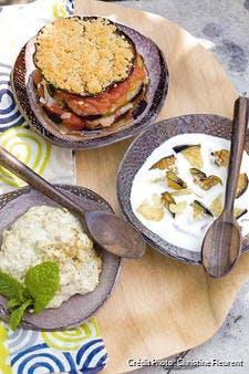 Aubergines au yaourt à la turque