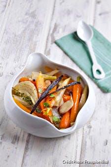 Folle fricassée de carottes à la vanille