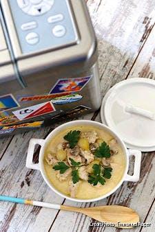 Blanquette de poulet à la machine à pain
