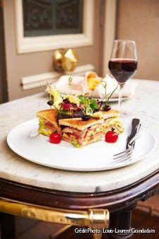 Club sandwich aux cailles