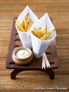 Frites ch'tis à la mayonnaise