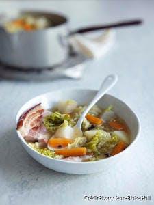 Soupe au chou et au lard