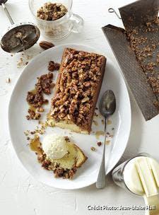 Gâteau aux noix de pécan et au sirop d'érable