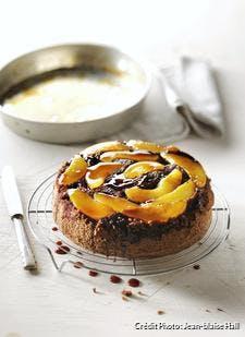 Gâteau renversé poires-caramel